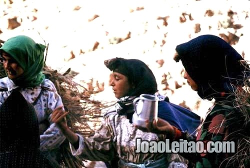 Mulheres berberes em Marrocos