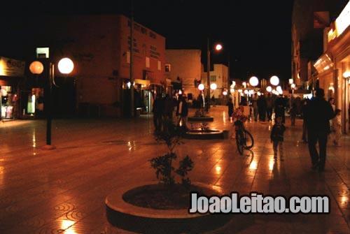 Dakhla à noite, Marrocos