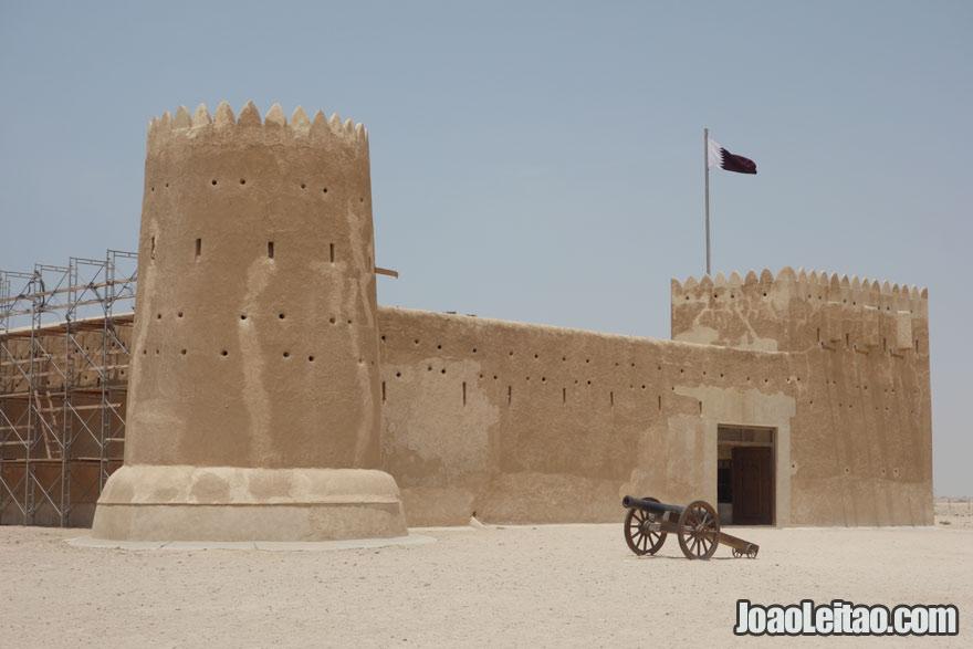 Forte Al Zubarah, Visitar o Qatar