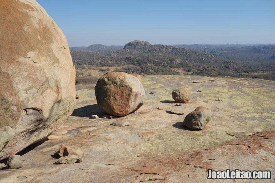 Vista no Parque Nacional Matobo, Visitar o Zimbabué
