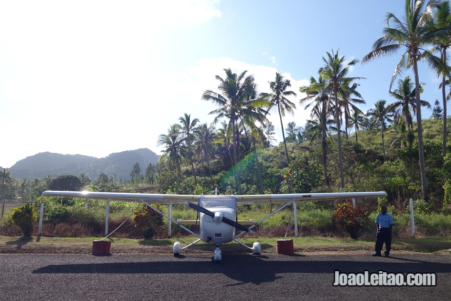 Levuka Airfield nas Ilhas Fiji