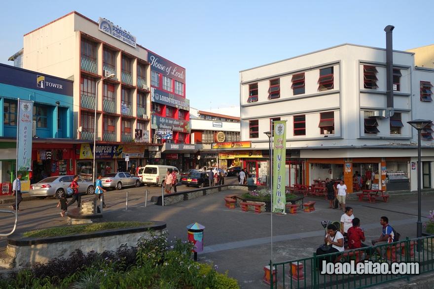 Visitar o centro de Suva, a capital das Fiji