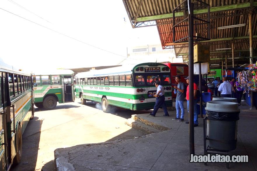 Terminal de Autocarros de San Salvador, El Salvador