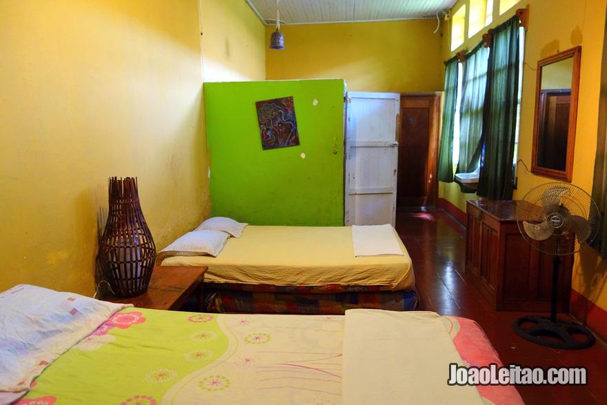 Quarto da Hospedaje La Libertad em Granada, Nicarágua