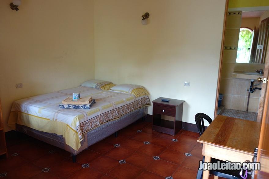 Quarto no Hotel San Antonio em San Pedro la Laguna na Guatemala