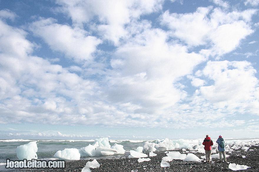Praia do Iceberg Jokulsarlon