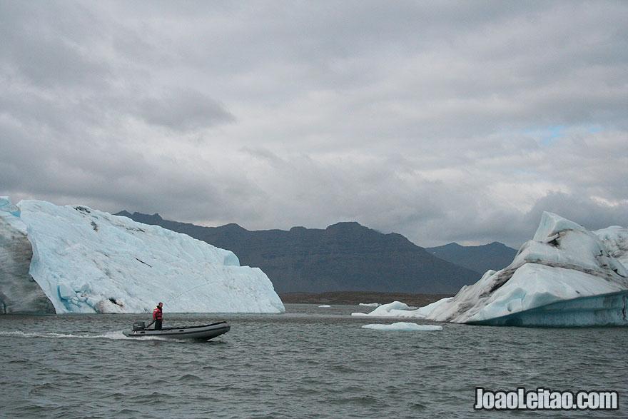 Lagoa glaciar Jokulsarlon