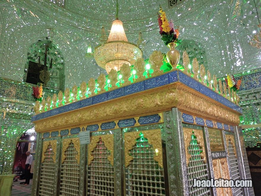 Mesquita Zaid no Bazar de Teerão no Irão