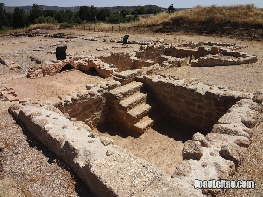 Ruinas Romanas do Parque de São Tiago Cellas