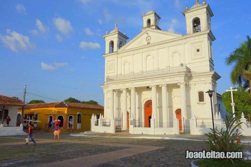 Iglesía Santa Lucia em Suchitoto