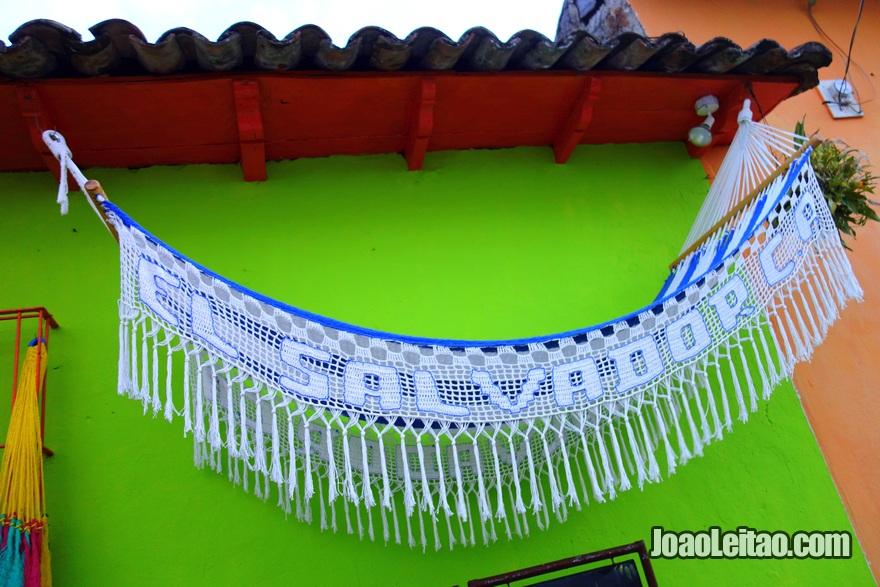 Rede com El Salvador à venda em Suchitoto