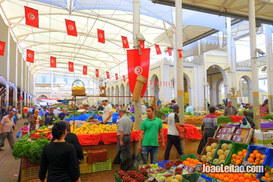 Mercado Municipal de Tunes o chamado Marché Central