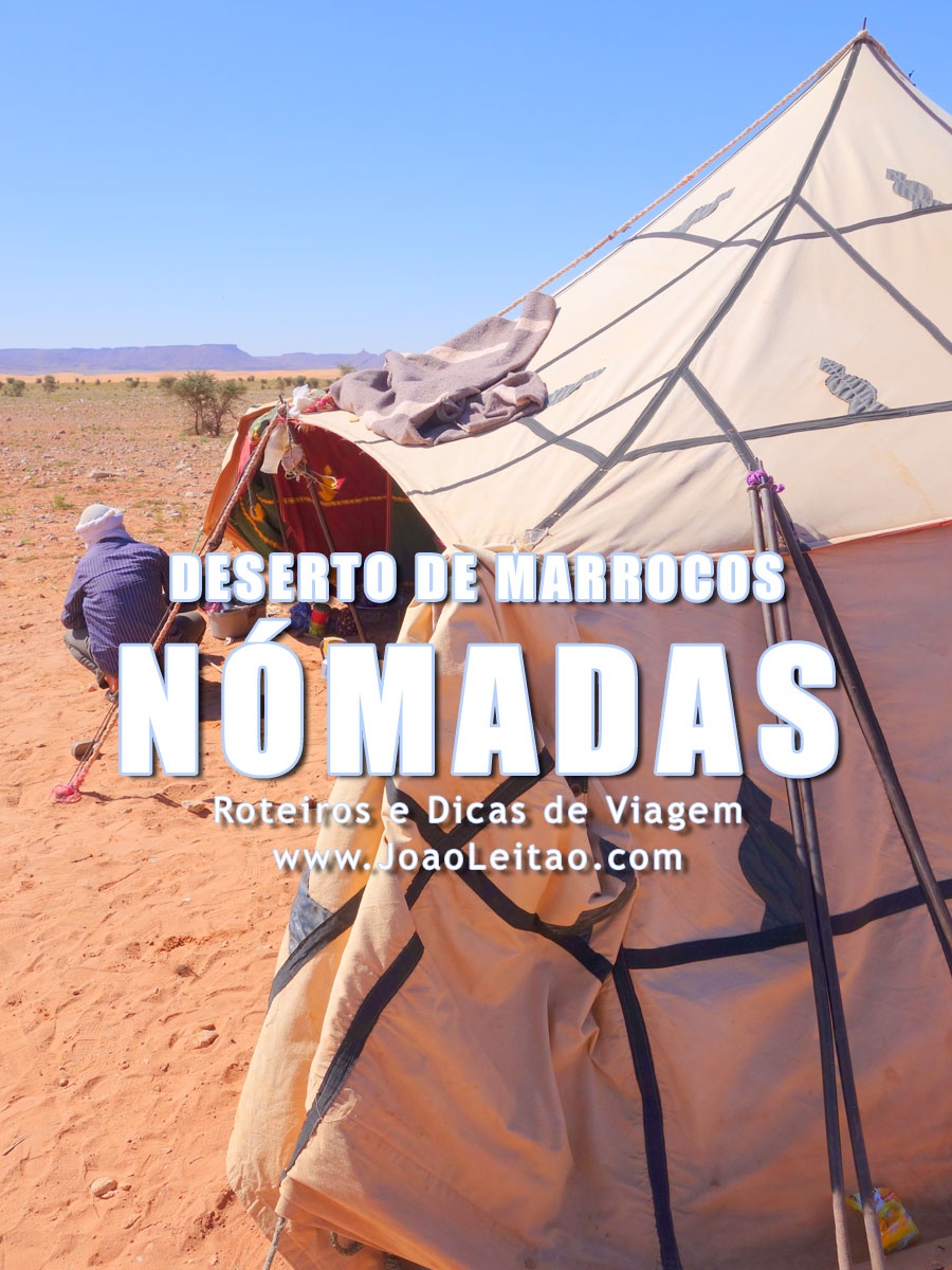 Nómadas de Marrocos, Deserto do Saara