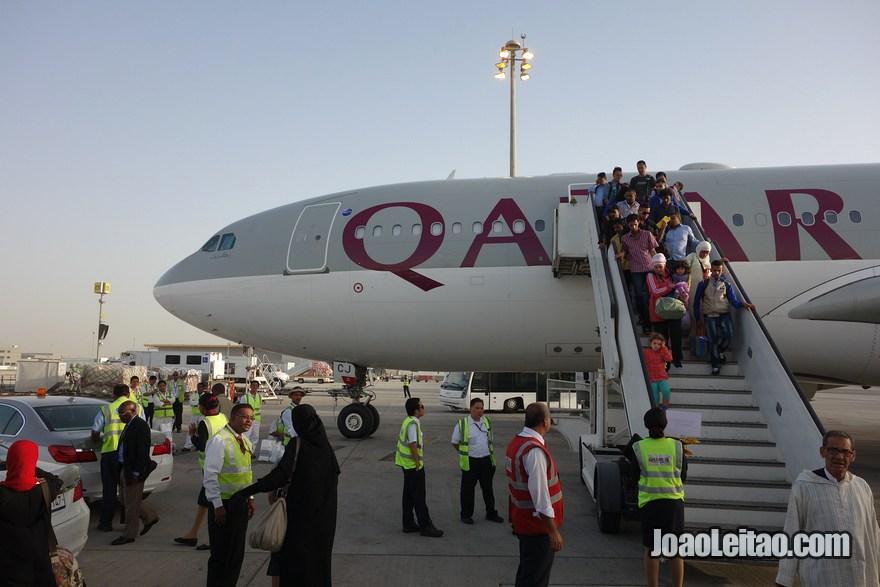 Como embarcar num avião, Primeira viagem de avião