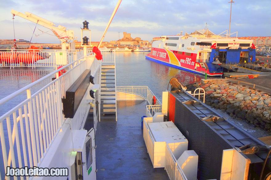 Barco Espanha Marrocos