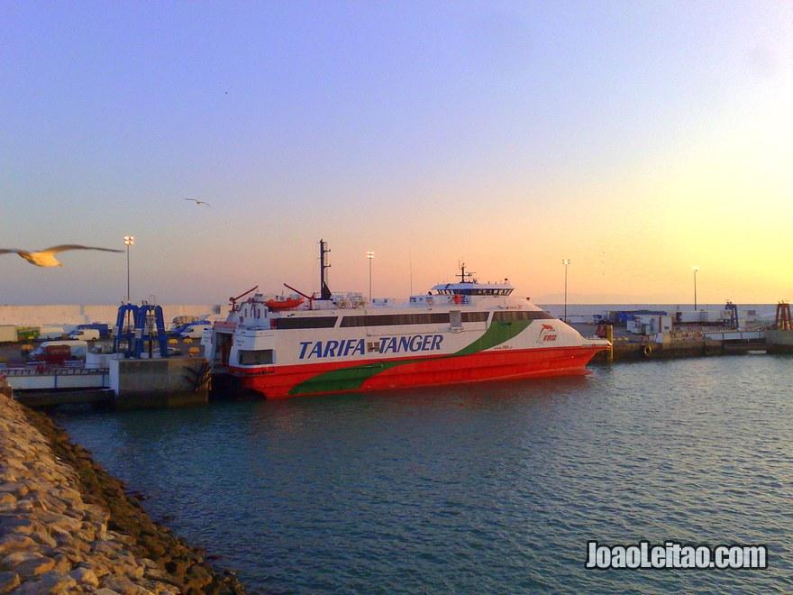Foto do Barco Espanha Marrocos
