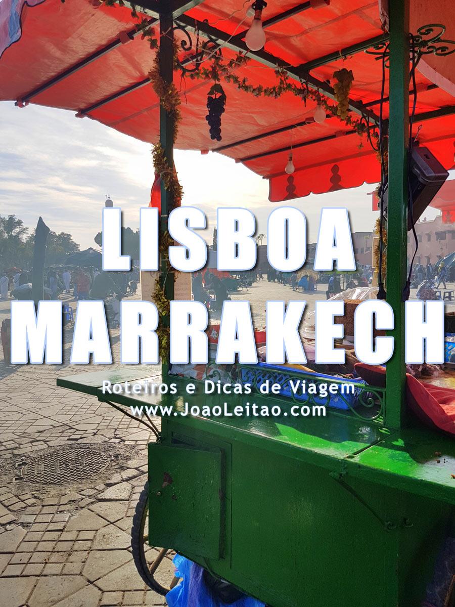 Lisboa até Marraquexe por terra em 3 tempos, Itinerário Passo-a-passo
