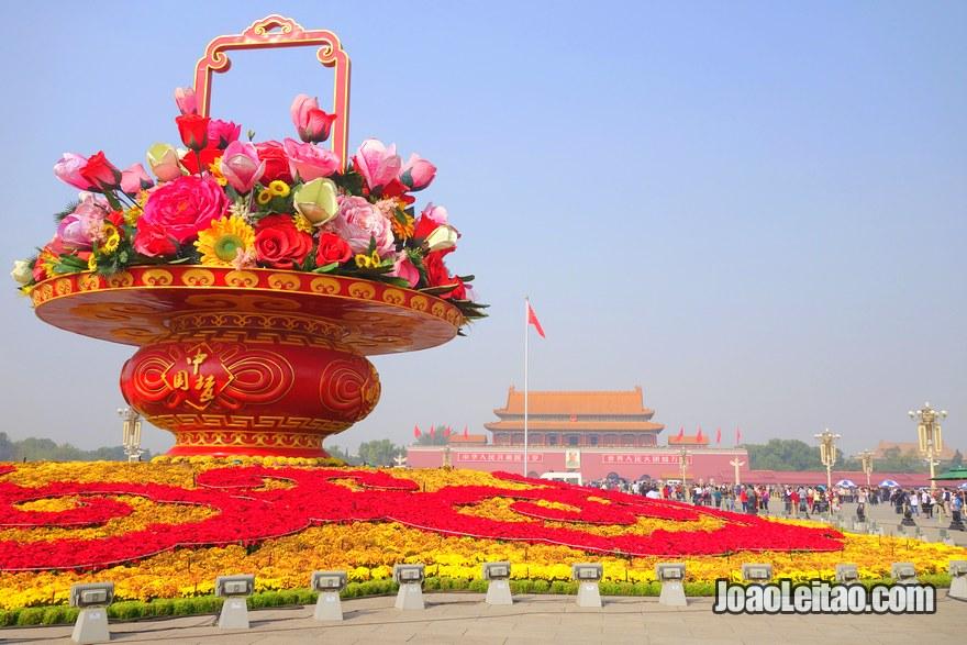 Praça Tiannamen no centro de Pequim, Visitar Pequim