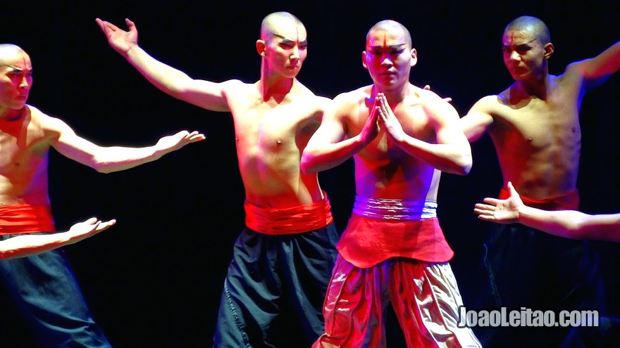 Show de Shaolin em Pequim