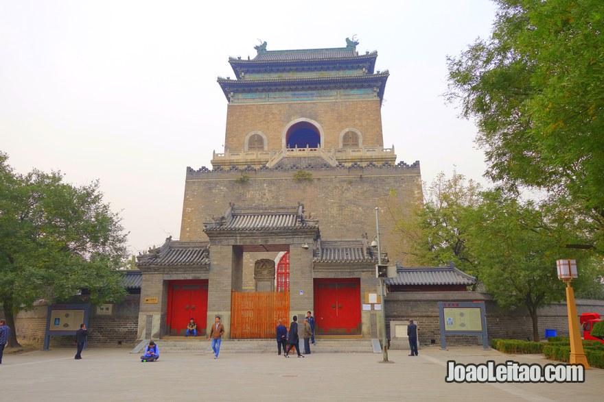 Foto da Torre do Sino em Pequim