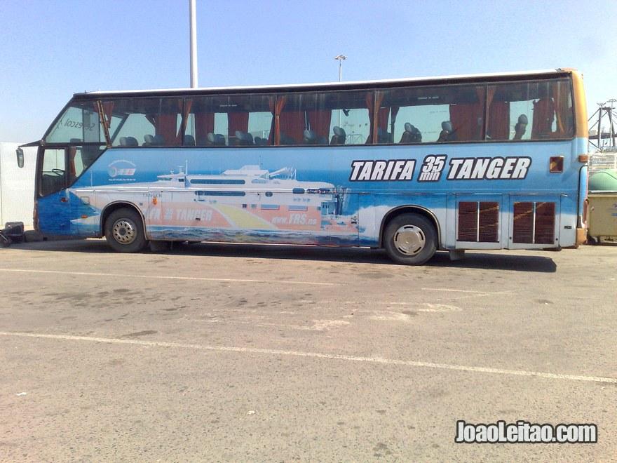 Foto do Transporte grátis desde Algeciras até Tarifa em Espanha
