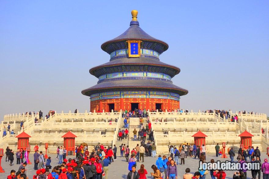 O Templo do Céu em Pequim, Visitar Pequim