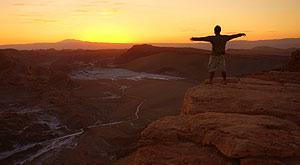 Por do Sol Deserto Atacama