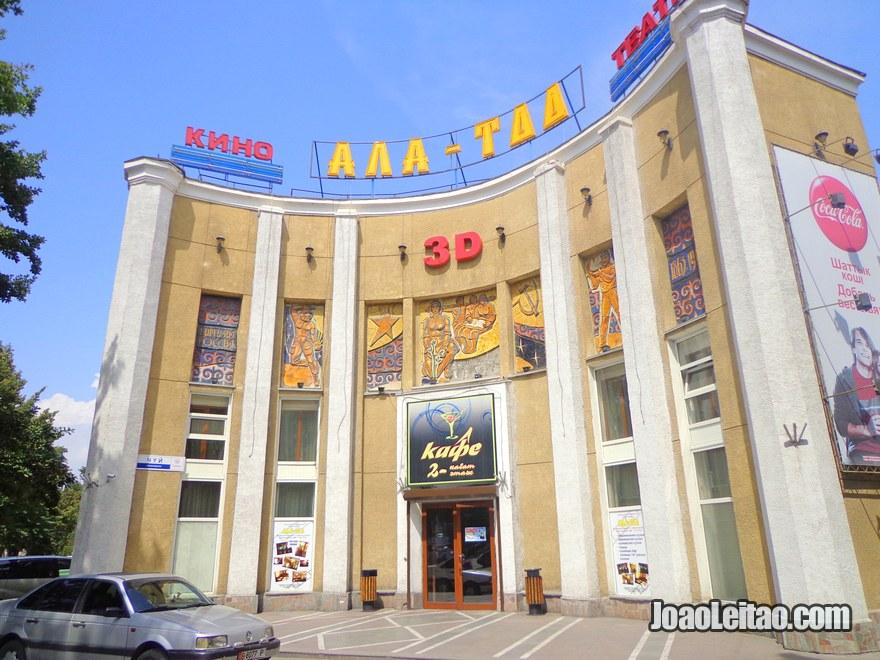 Cinema 3D em Bishkek