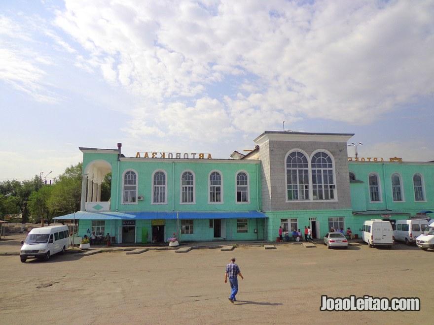 Estação terminal Este de autocarros de Bishkek
