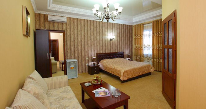 Grand Hotel em Bishkek