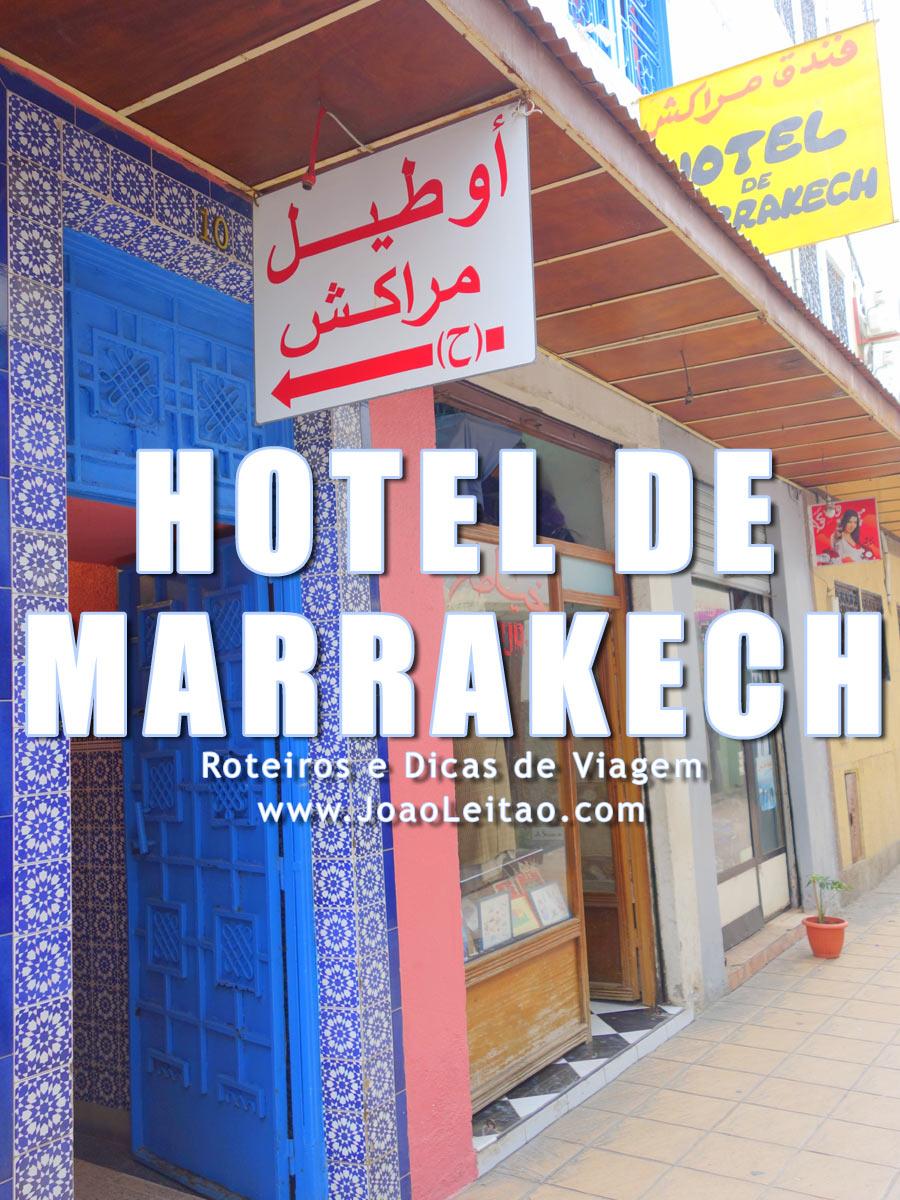 Hotel de Marrakech em Rabat, Marrocos