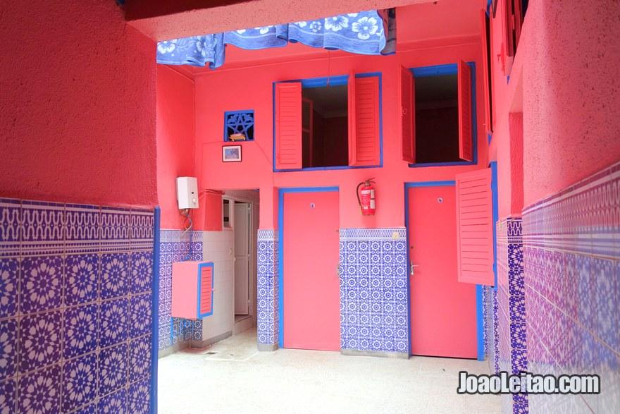 Interior do Hotel de Marrakech em Rabat, Marrocos