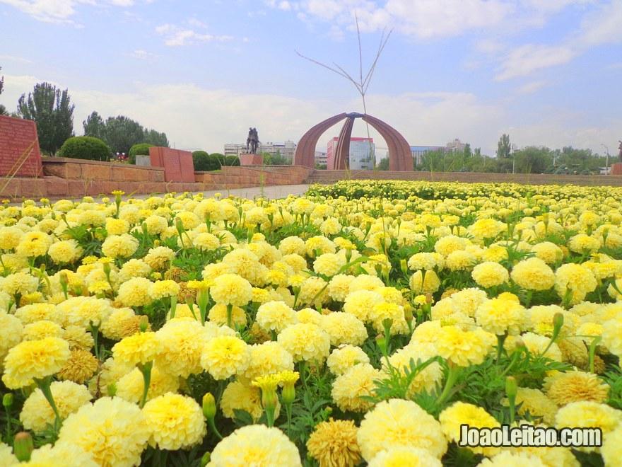 Monumento da Vitoria em Bishkek