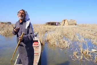 Pantanos da Mesopotamia Iraque