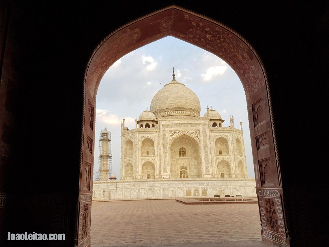 Taj Mahal em Agra, Visitar Índia