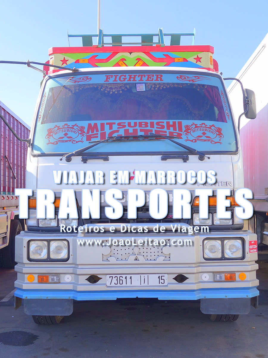 Transportes em Marrocos - Informação prática para viajar