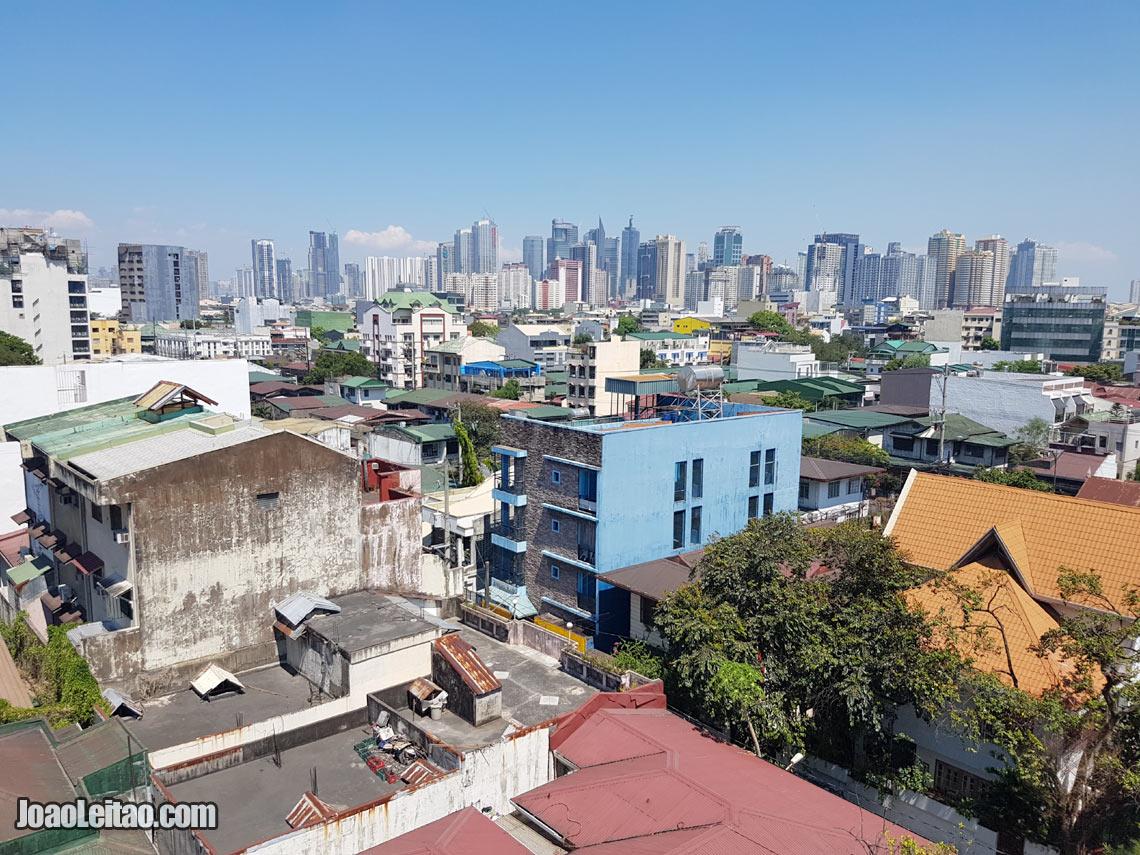 Vista da skyline da cidade de Manila, Visitar Filipinas