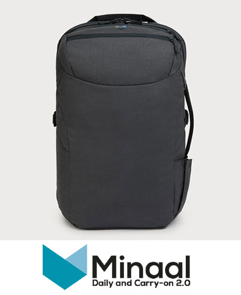 minaal carry on bag travel