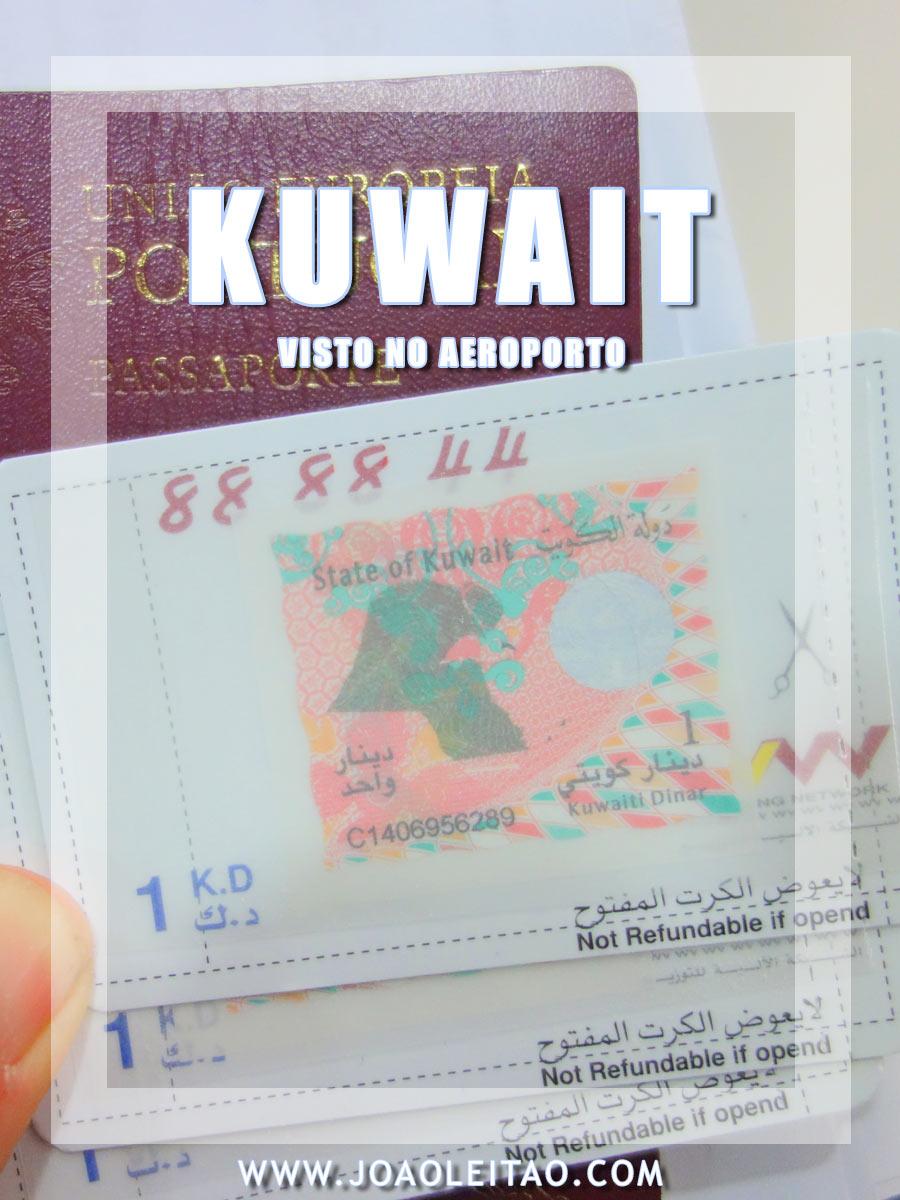 VISTO AEROPORTO KUWAIT