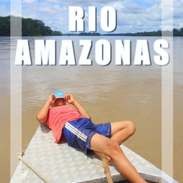 550 Horas de barco no Rio Amazonas: Brasil, Peru e Equador