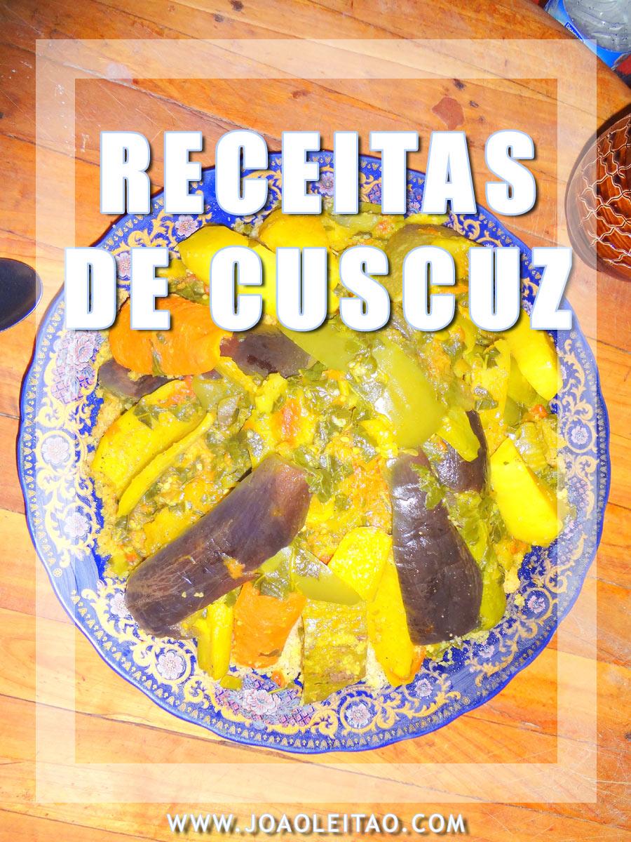RECEITAS CUSCUZ-COUSCOUS