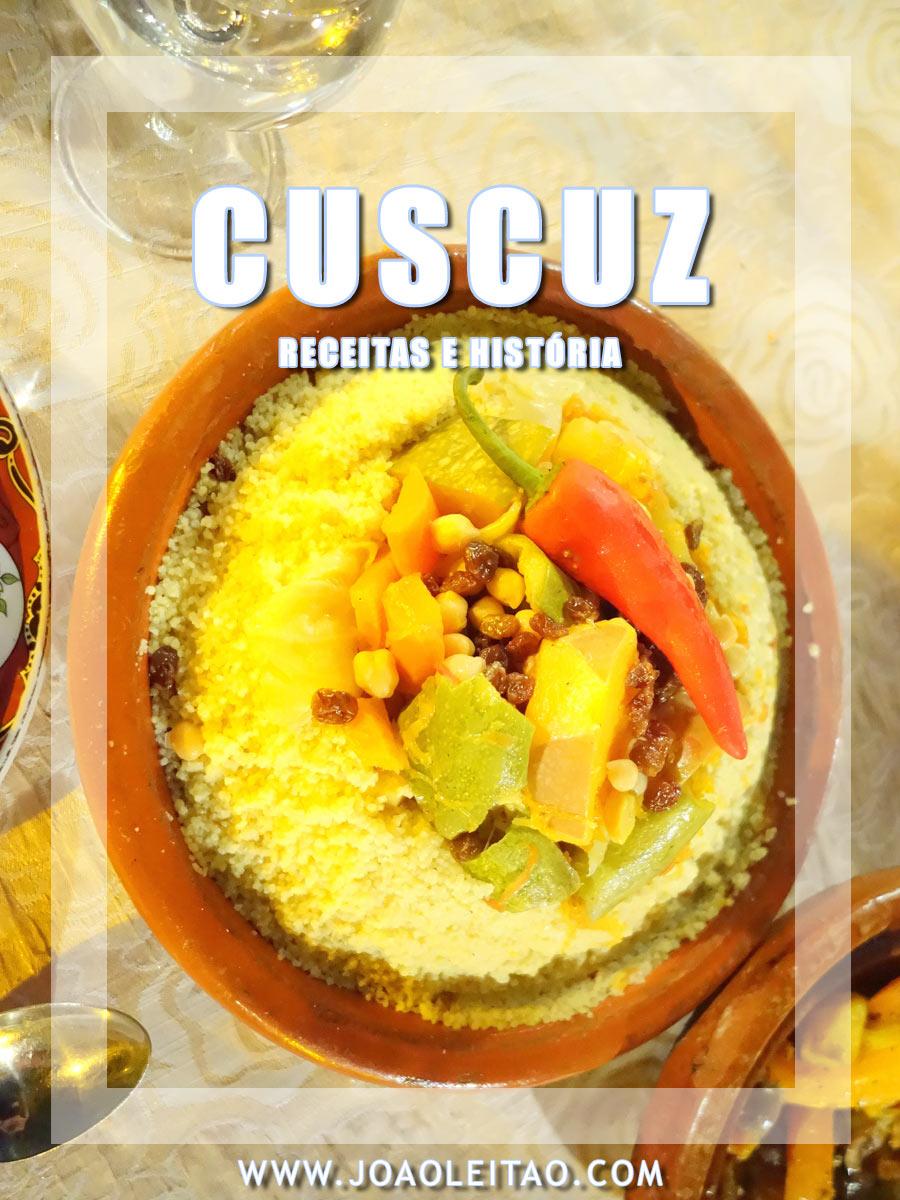 RECEITAS DE CUSCUZ