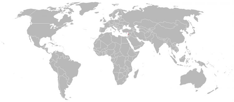 MAPA LIBANO