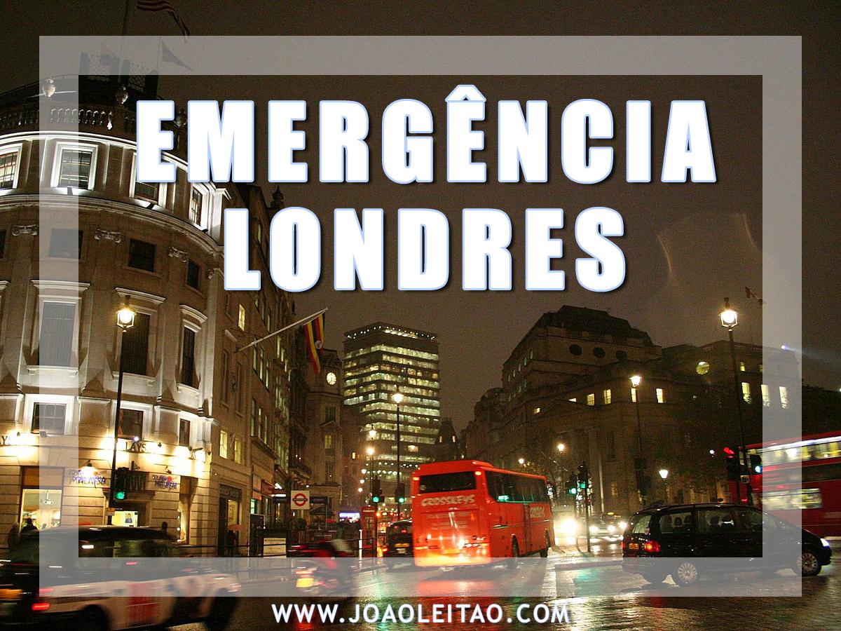 EMERGÊNCIA EM LONDRES