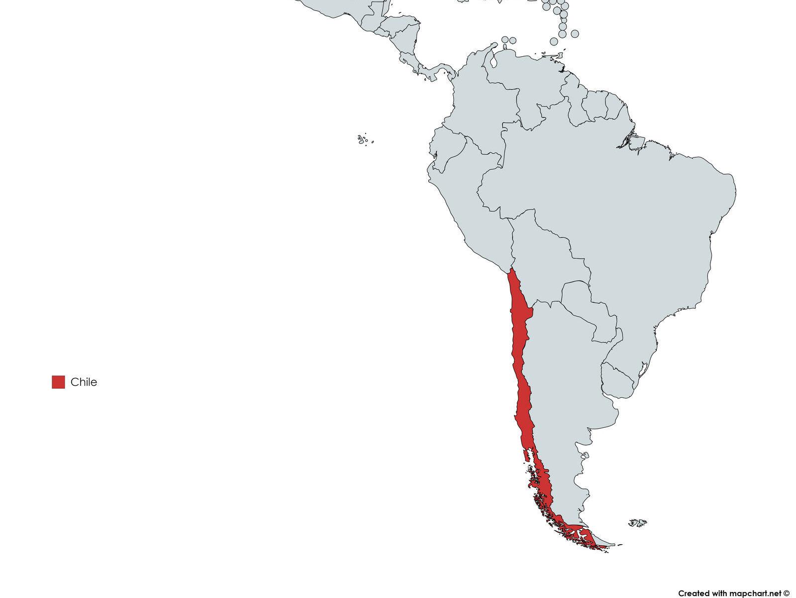 MAPA CHILE