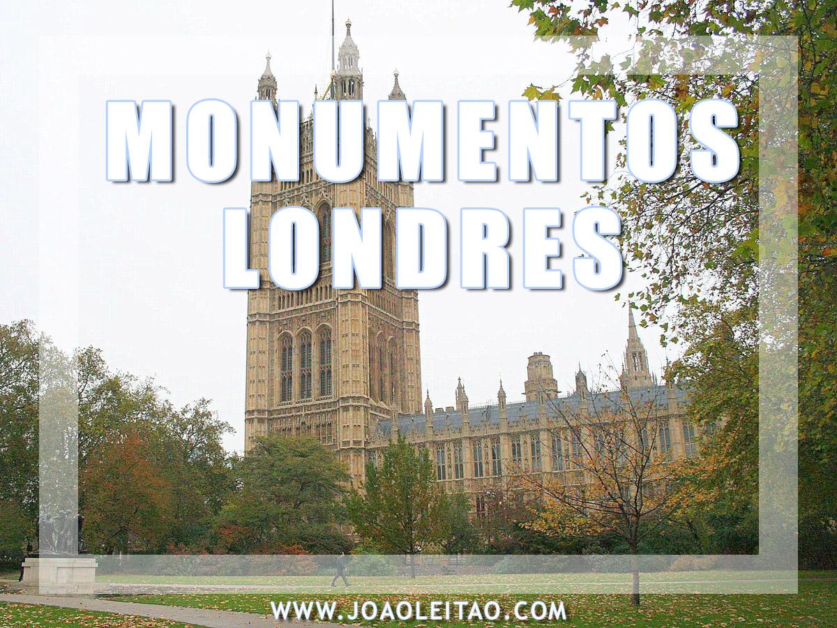 MONUMENTOS EM LONDRES