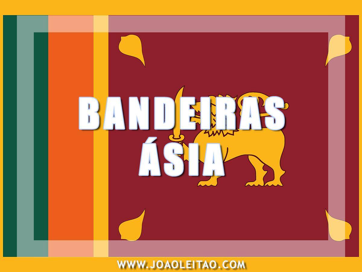 BANDEIRAS ASIA