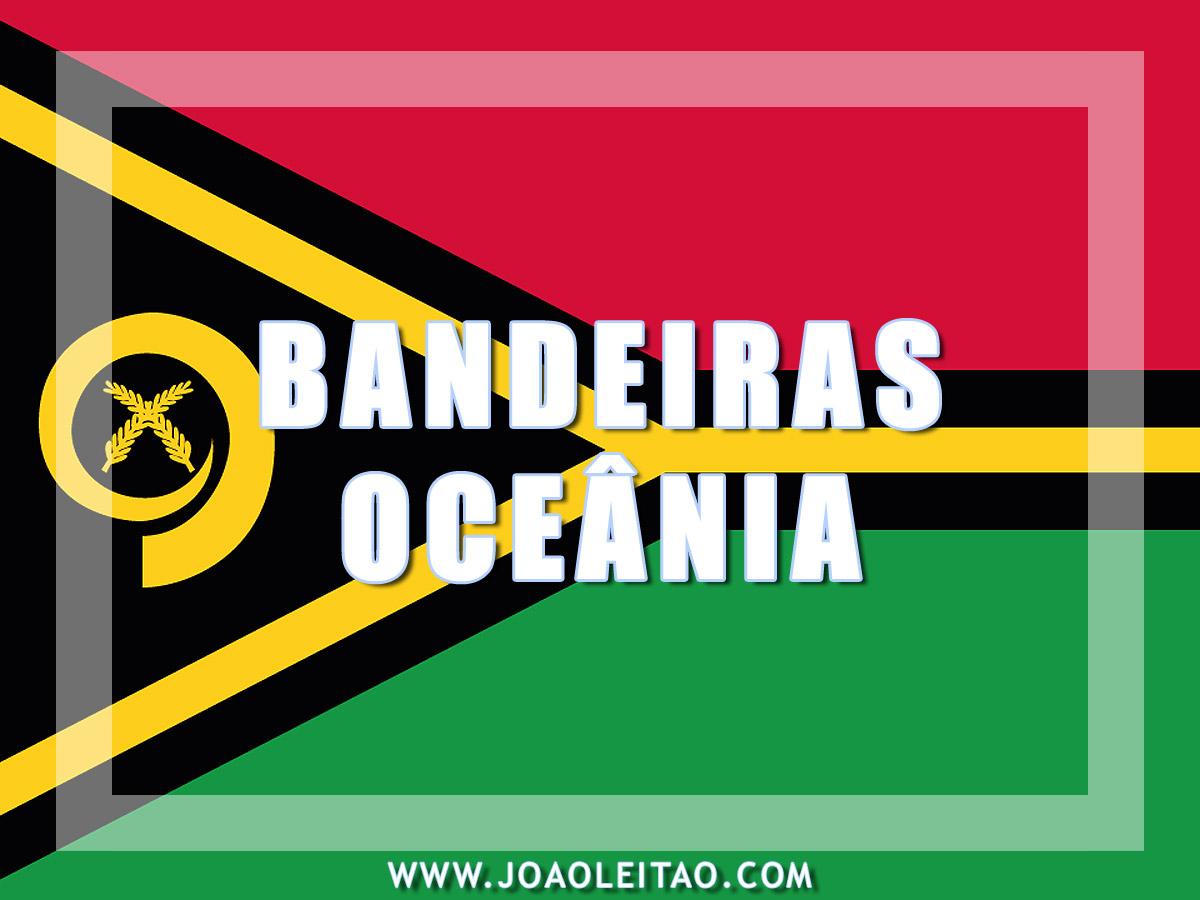 BANDEIRAS OCEANIA