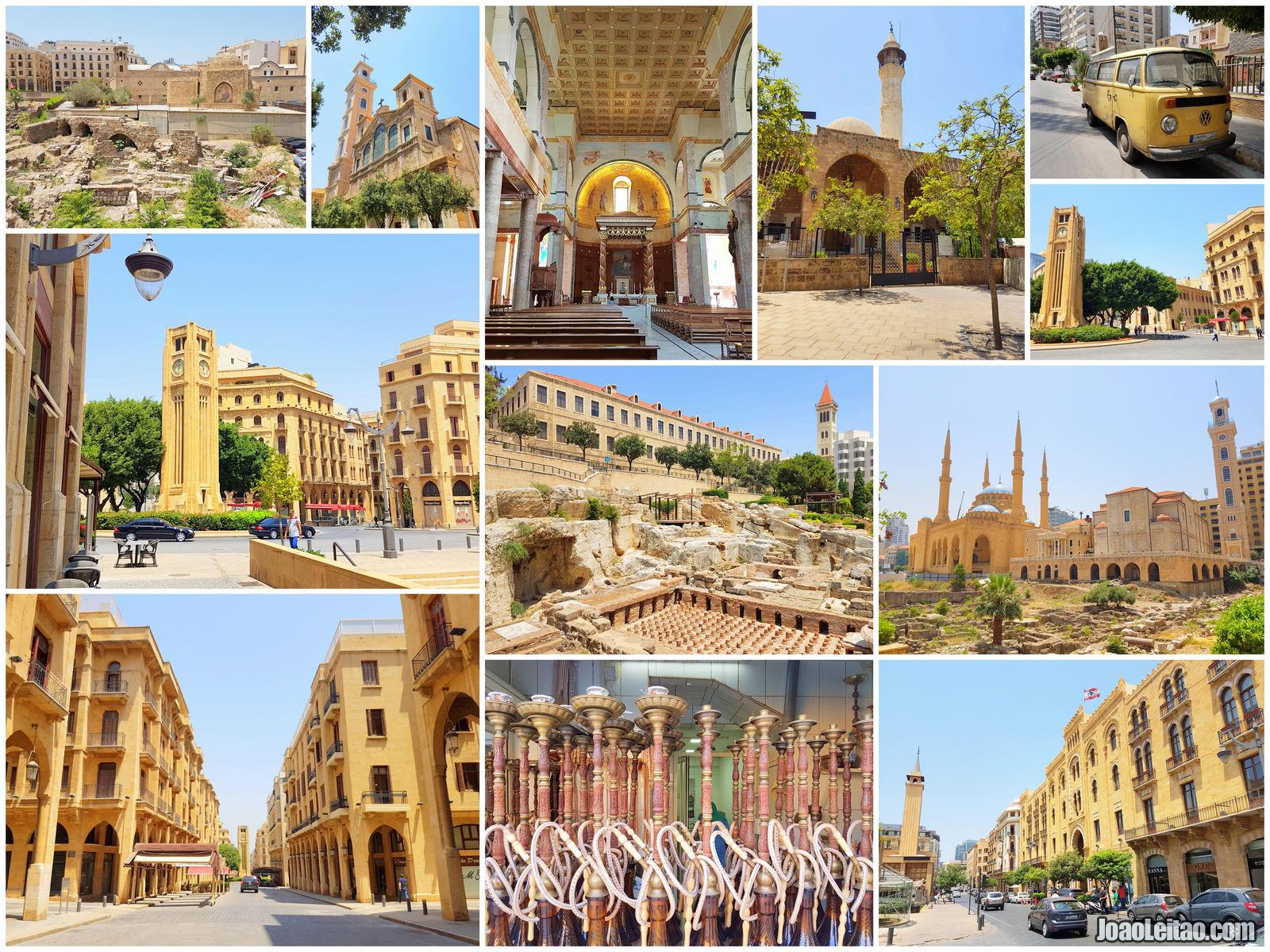 O QUE VISITAR EM BEIRUTE NO LIBANO