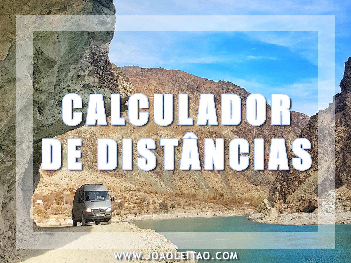 CALCULADOR DE DISTANCIAS